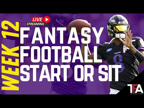 Fantasy Football Advice | Week 12 Start or Sit, Waiver Wire Adds, Trades | 2020 Fantasy Football