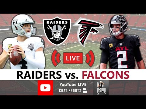 Raiders vs Falcons Live Streaming Scoreboard, Free Play-By-Play, Highlights, Analysis | NFL Week 12