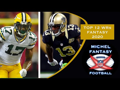 Top 12 Wide Receivers NFL FANTASY football (2020) en español