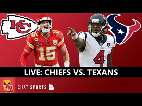 Chiefs vs. Texans Live Streaming Scoreboard & Updates On Highlights For NFL Thursday Night Football