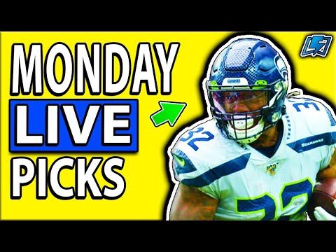 DRAFTKINGS NFL PICKS MONDAY NIGHT WEEK 12 LIVE DFS Betting PICKS