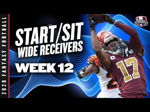 2020 Fantasy Football – Week 12 Wide Receivers – Start or Sit? Every Match Up