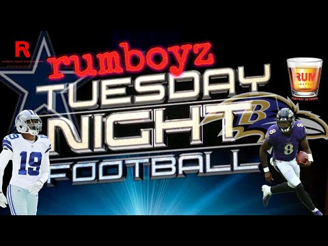 Dallas Cowboys vs Baltimore Ravens Tuesday Night Football week 13