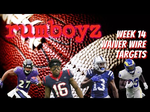 Fantasy Football Waiver Wire Show week 14