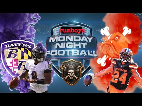 Baltimore Ravens vs Cleveland Browns Monday Night Football week 14