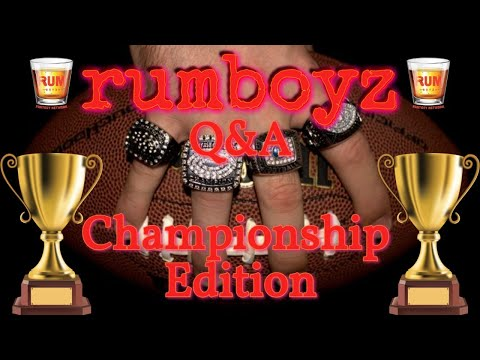 Rumboyz Fantasy Football LIVE Q&A Championship Edition Part II