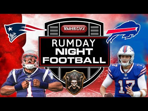 Buffalo Bills versus New England Patriots Monday Night Football week 16