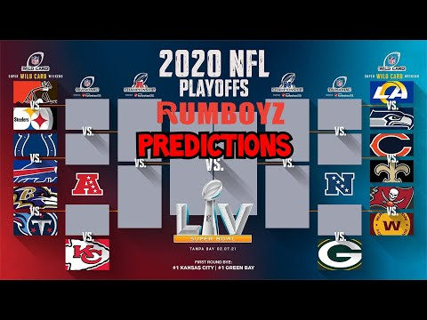 2020 NFL Playoff & Super Bowl Predictions!