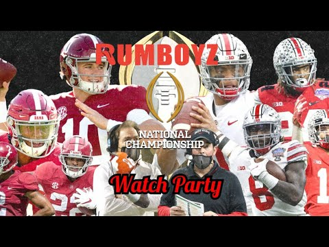 Ohio State vs Alabama College Football National Championship game
