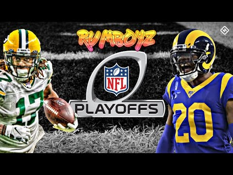 Los Angeles Rams vs Green Bay Packers NFC divisional playoffs