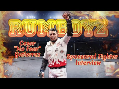 Cesar Gutierrez sponsored MMA Fighter Interview