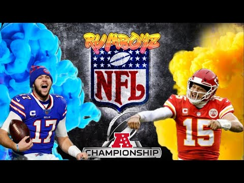 Buffalo Bills vs Kansas City Chiefs AFC Conference Championship