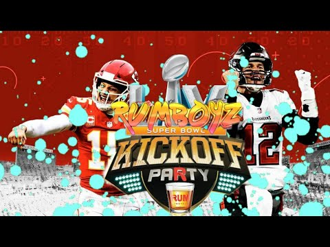 Rumboyz Super Bowl LV Kickoff Party!