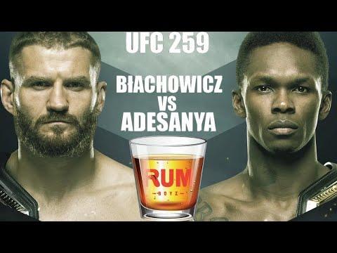 UFC 259 Blachowicz vs. Adesanya