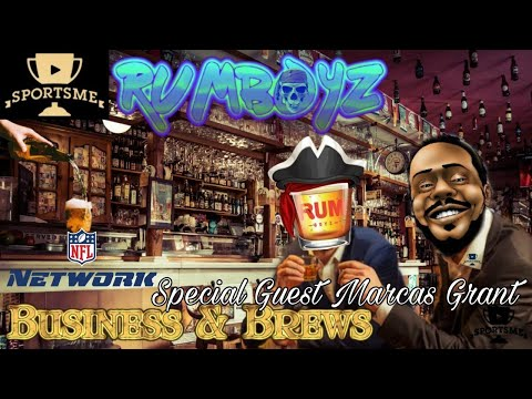 Business and Brews with Marcas Grant of NFL Network