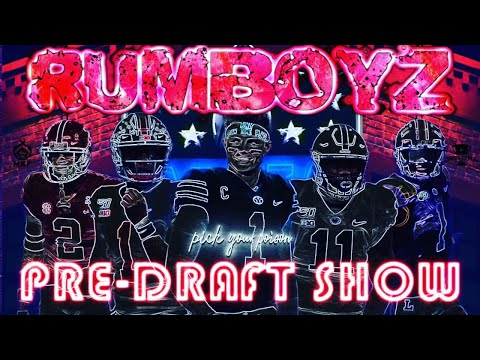 NFL Draft Pre Party Live stream!