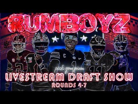 NFL DRAFT LIVE 2021 DAY 3!