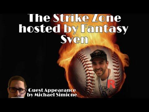 The StrikeZone with Fantasy Sven!