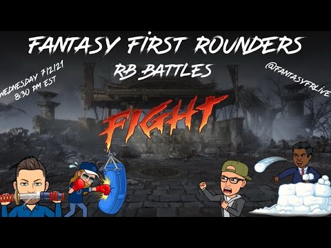 Fantasy First Rounders Live!