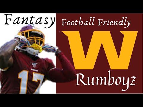 Fantasy Football Friendly // Washington Football Team!