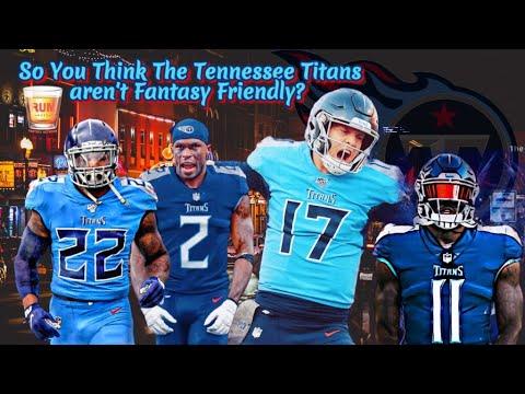 Fantasy Football Friendly // Tennessee Titans!