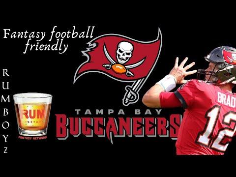 Fantasy Football Friendly // Tampa Bay Buccaneers