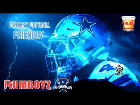 Fantasy Football Friendly // Dallas Cowboys