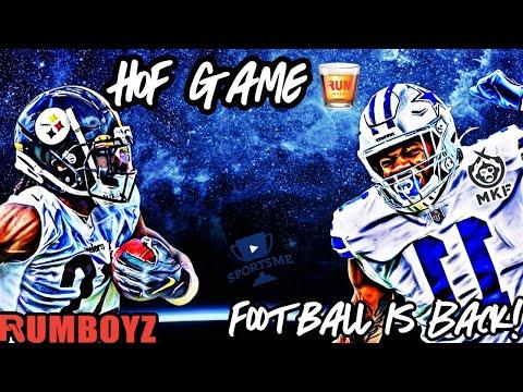 HOF Game Pittsburgh Steelers vs Dallas Cowboys