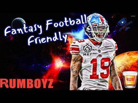 Fantasy Football Friendly // New York Giants