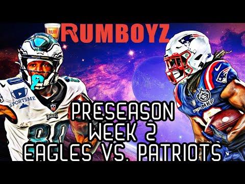 New England Patriots vs Philadelphia Eagles NFL Preseason