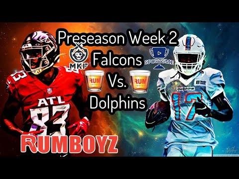 Atlanta Falcons vs Miami dolphins NFL preseason