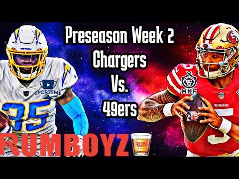 San Francisco 49ers vs Los Angeles Chargers NFL preseason