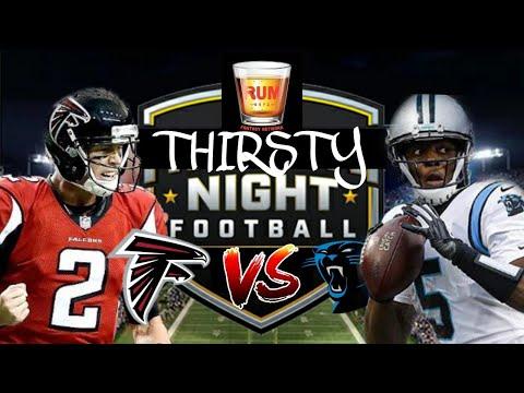 Atlanta Falcons vs Carolina Panthers Thursday Night Football week 8
