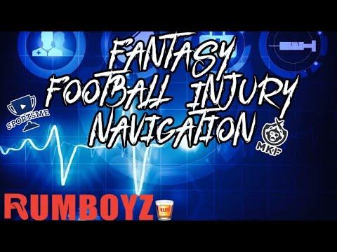 Fantasy Football Injury Navigation