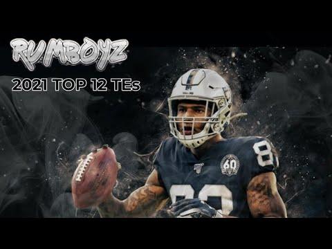 Fantasy Football 2021 Top 12 TE's