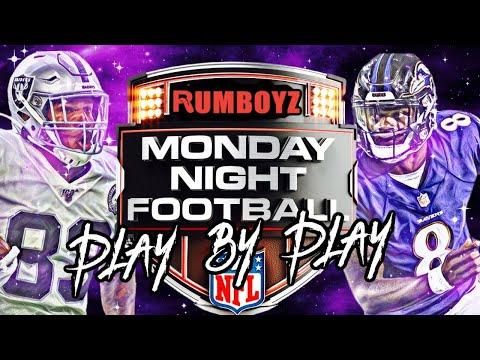 Monday Night Football Baltimore Ravens vs Las Vegas Raiders week 1 2021