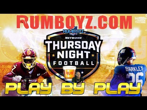 Thursday Night Football New York Giants vs Washington Football Team Week 2!