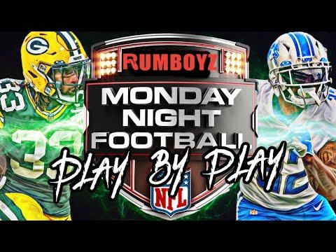 Monday Night Football Detroit Lions vs Green Bay Packers week 2 2021!