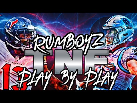 Thursday Night Football Carolina Panthers vs Houston Texans Week 3!