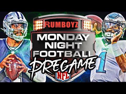 Monday Night Football Philadelphia Eagles vs Dallas Cowboys pregame show!