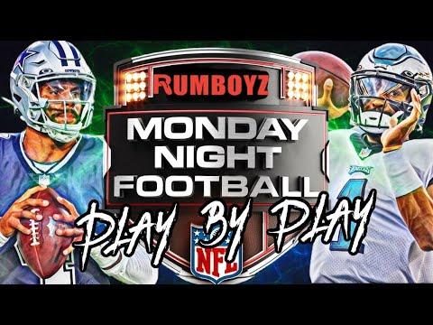 Monday Night Football Philadelphia Eagles vs Dallas Cowboys week 3 2021!