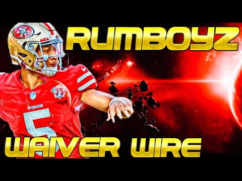 2021 Fantasy Football Waiver Wire Week 5 adds and drops!