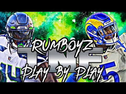 Thursday Night Football Los Angeles Rams vs Seattle Seahawks Week 5!