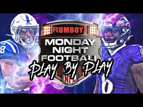 Monday Night Football Indianapolis Colts vs Baltimore Ravens week 5 2021!