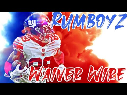 2021 Fantasy Football Waiver Wire Week 6 adds and drops!