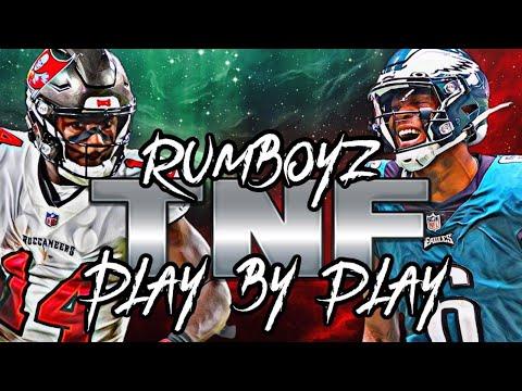 Thursday Night Football Tampa Bay Buccaneers vs Philadelphia Eagles Week 6!