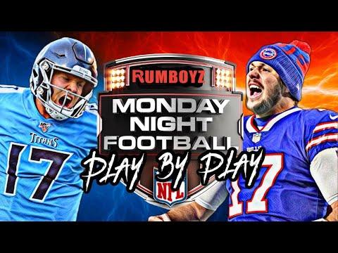 Monday Night Football Buffalo Bills vs Tennessee Titans week 6 2021!