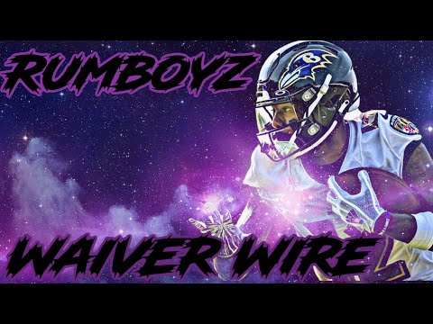 2021 Fantasy Football Waiver Wire Week 7 adds and drops!